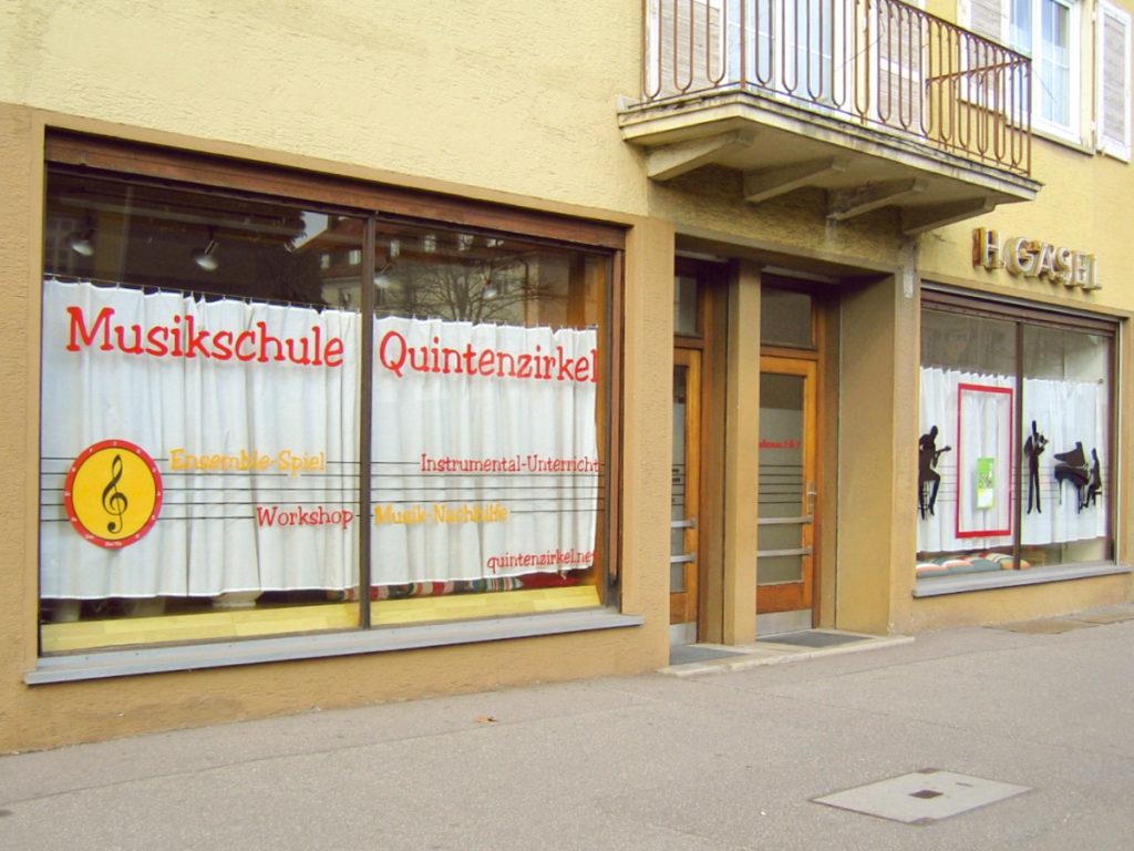 Foto der Musikschule Quintenzirkel in der Schorndorfer Straße.